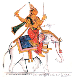 Ведический бог Индра